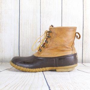 LL BEAN Duck Boots Goretex Lined Size 12